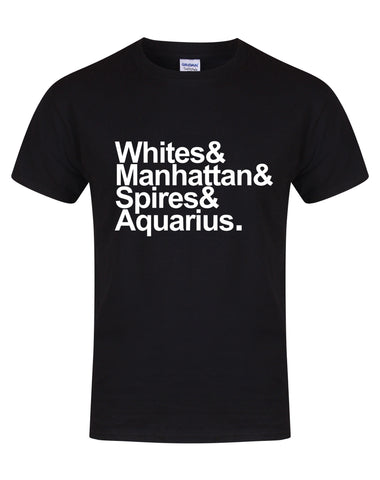 Destination Aquarius unisex fit T-shirt - various colours
