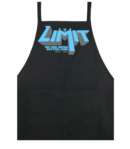 Limit anniversary (blue logo) - cooking apron