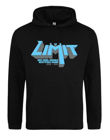 Limit anniversary (blue logo) unisex fit hoodie - various colours