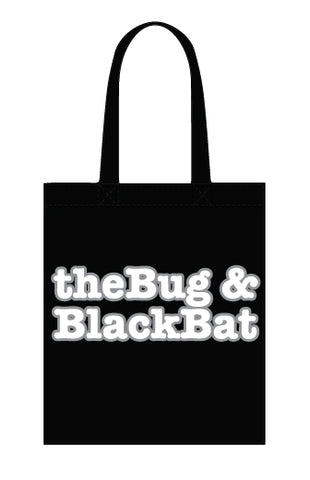 The Bug & Black Bat tote bag