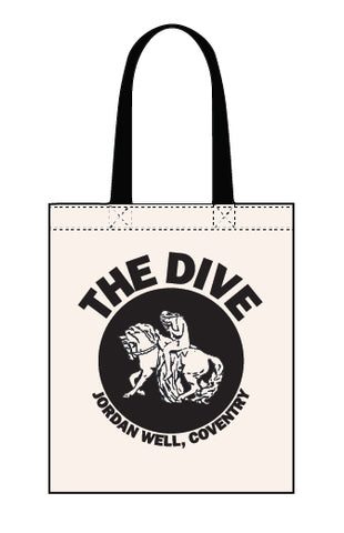 The Dive canvas tote bag