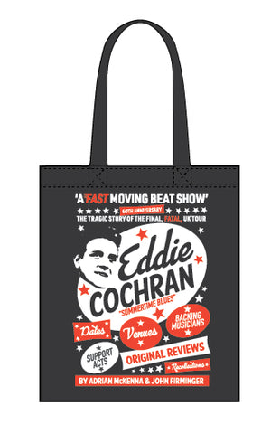 Eddie Cochran: A Fast Moving Beat Show - canvas tote bag