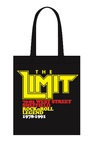 Limit anniversary (yellow logo) - canvas tote bag