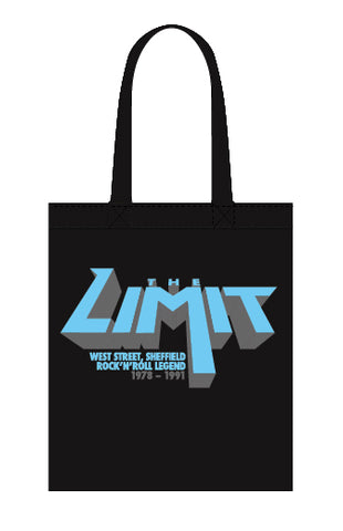 Limit anniversary (blue logo) - canvas tote bag