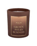 Grown Folks Biz Candle