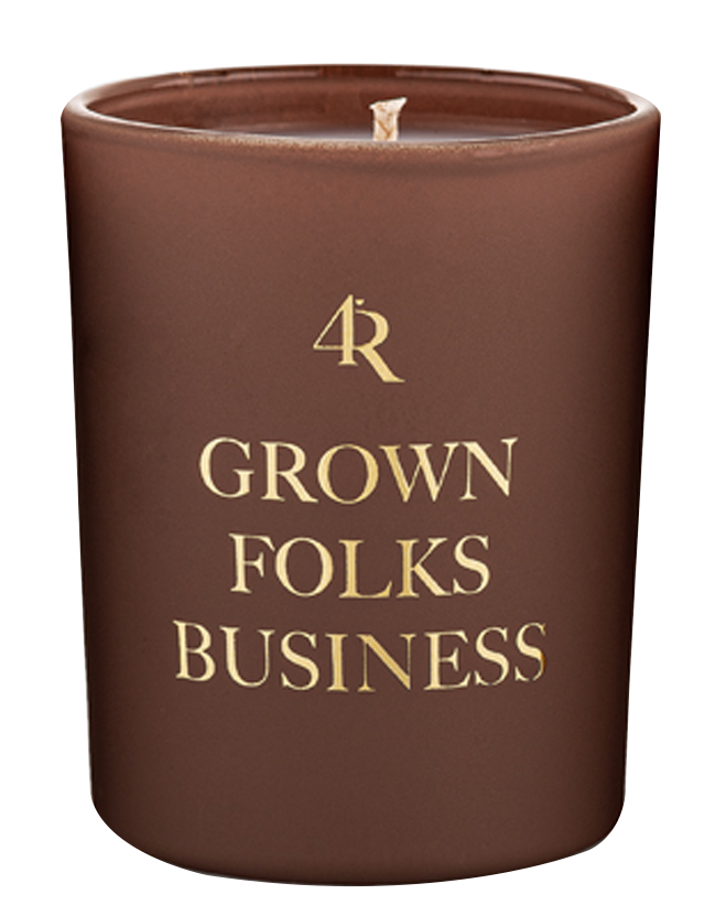 Grown Folks Business Candle