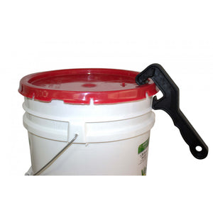 Pail and Bucket Lid Opener with Bung Wrench