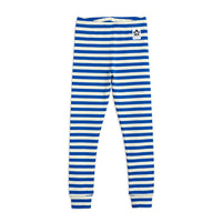 STRIPE RIB LEGGINGS, BLUE