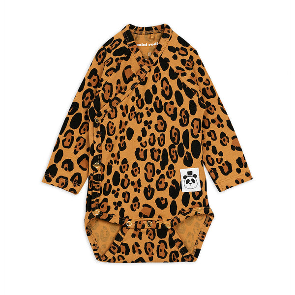BASIC LEOPARD WRAP BODY