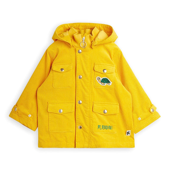 CORDUROY JACKET, YELLOW