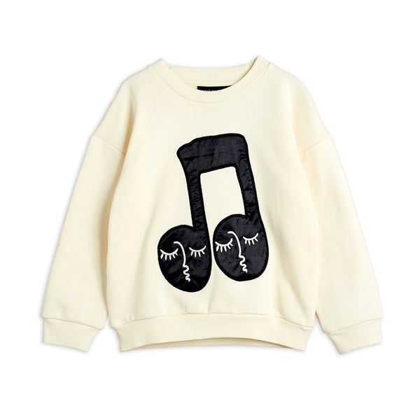 NOTE PATCH SWEATSHIRT