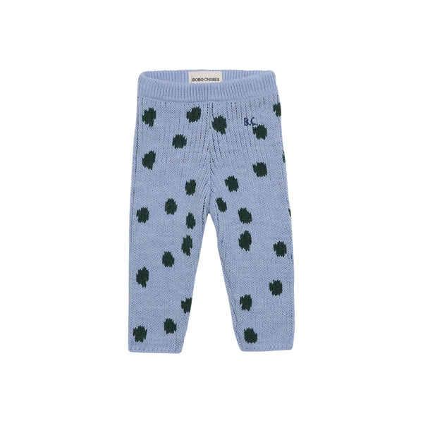 DOTS KNITTED LEGGINGS