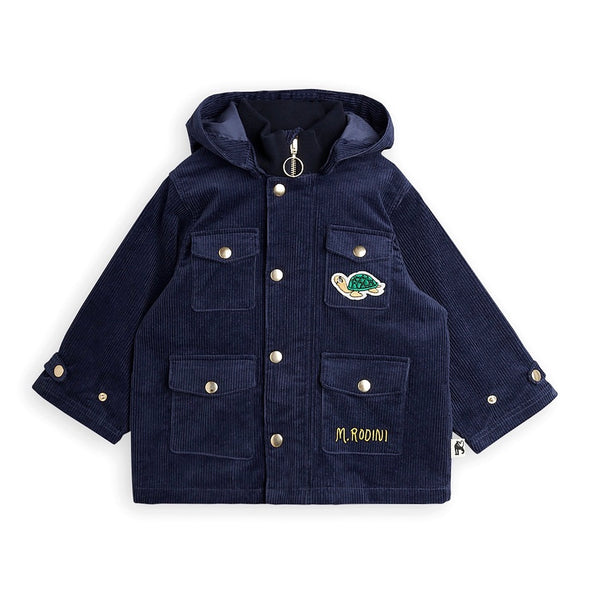 CORDUROY JACKET, NAVY