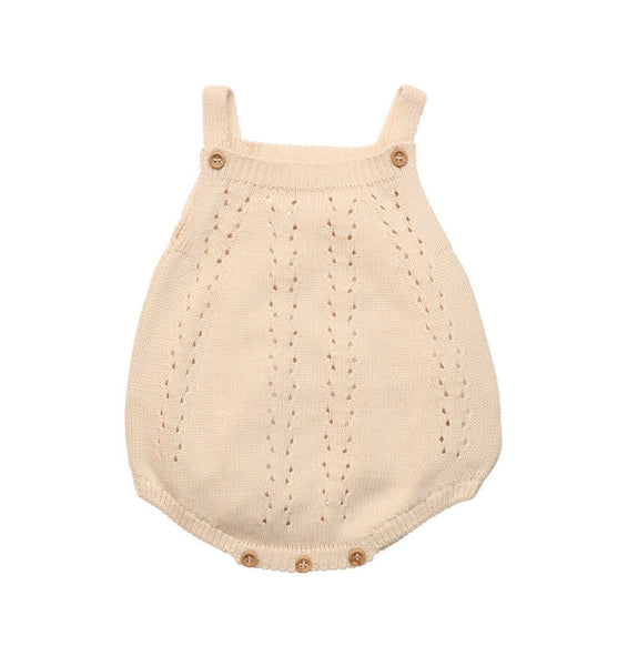 ALICE BABY KNIT ROMPER