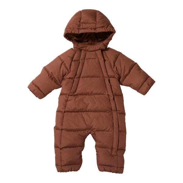 BABY DOWN SUIT, MOCCA