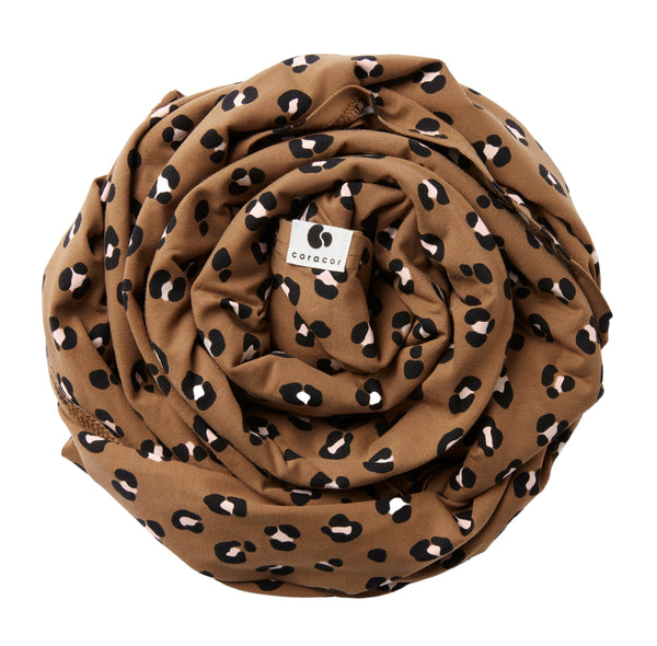 BABY WRAP LEO TOFFEE ROSE