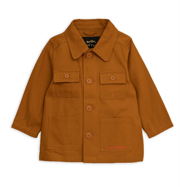 SAFARI CROCCO JACKET, BROWN