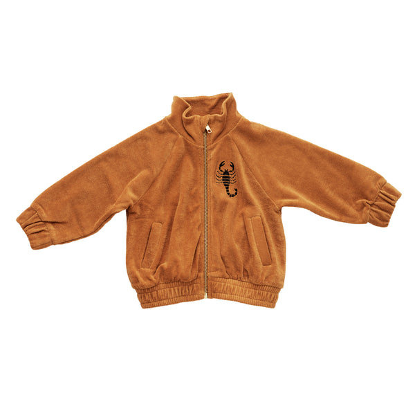 SCORPIO TERRY JACKET, BEIGE