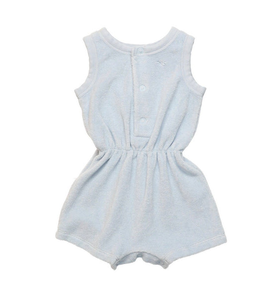 JOSEPH BABY ROMPER, LIGHT BLUE