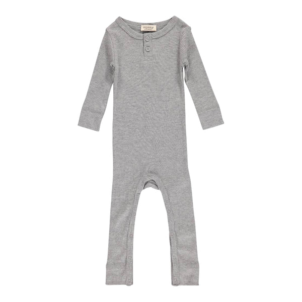 JUMPSUIT, GREY MELANGE