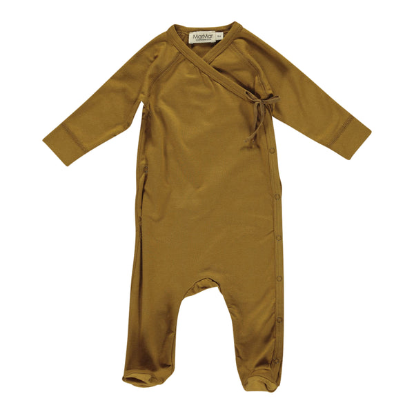 JUMPSUIT NEW BORN, OLIVE