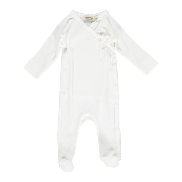 JUMPSUIT NEW BORN, WHITE
