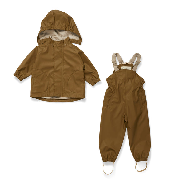 PALME RAINWEAR SET SOLID, BREEN