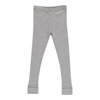 LEGGINGS, GREY MELANGE