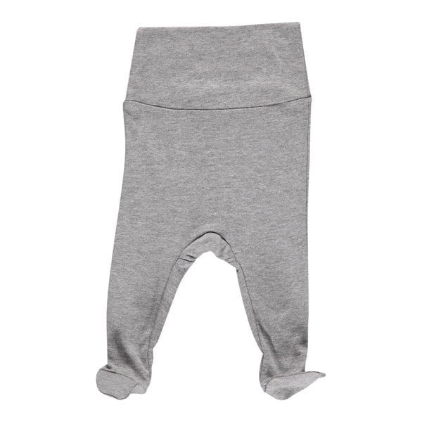 LEGGINGS NEW BORN, GREY MELANGE