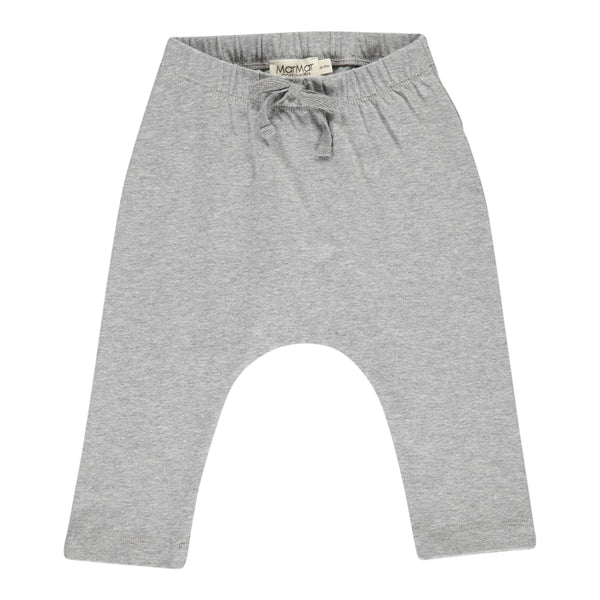 LEGGINGS WIDE, GREY MELANGE