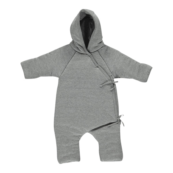 OVERALL NEW BORN, GREY MELANGE