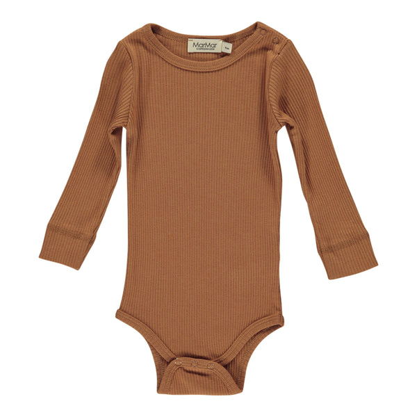 PLAIN BODY LS, DESERT RED