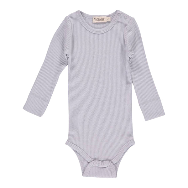 PLAIN BODY LS, PALE GREY