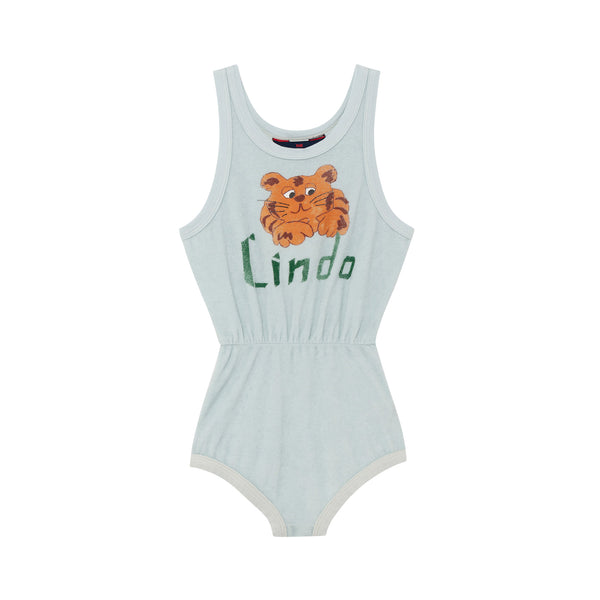 SQUIRREL BABY BODY, BLUE LINDO