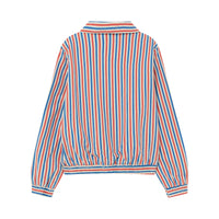 TIGER KIDS JACKET, WHITE STRIPES