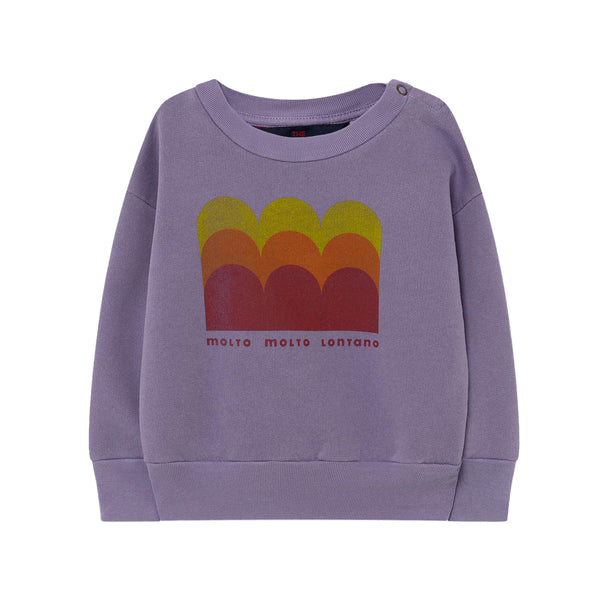BEAR BABY SWEATSHIRT, PURPLE MOLTO