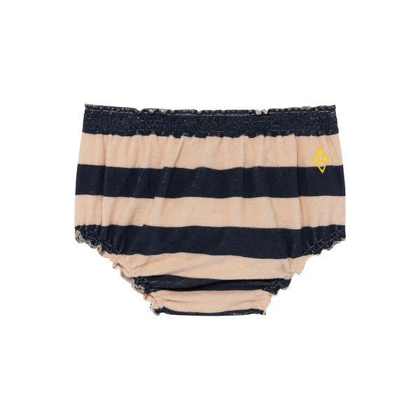 TOADS BABY CULOTTE, PEACHY STRIPES