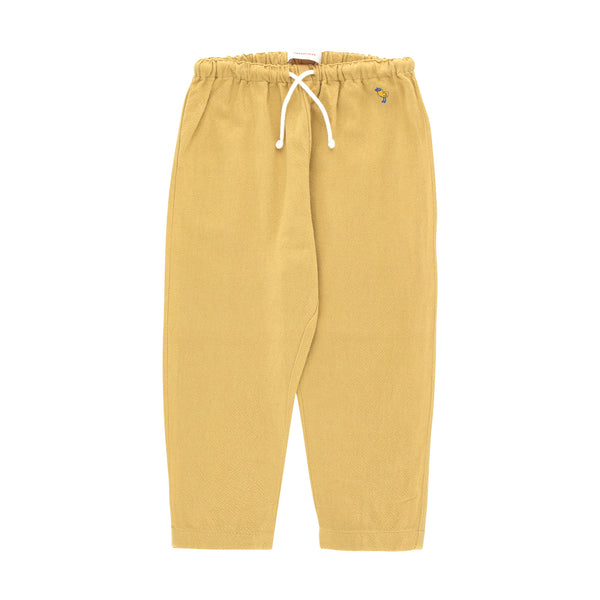 SOLID BABY PANT, SAND
