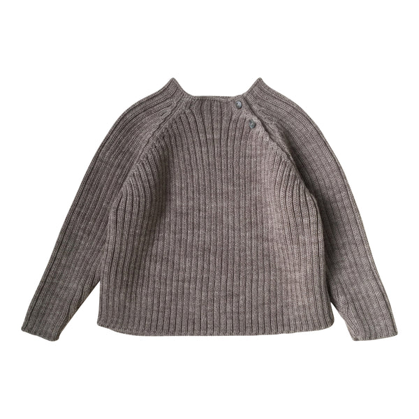 TOMA KNIT BLOUSE, PALOMA BROWN
