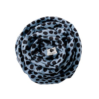 BABY WRAP ABSTRACT DOT BLUE