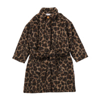 LEADING LEOPARD LONG COAT