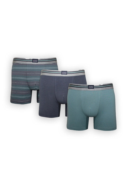 Jockey® Boxer Largo Paquete de 3 USA Original