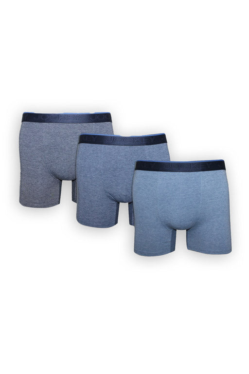Jockey® Boxer Largo Paquete de 3 Modern Cotton Plus