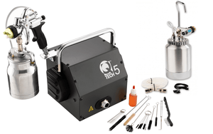 Special Deal - QTech 5 HVLP 5-Stage Turbine with Q70 Suction Gun & Remote Pot Assembly