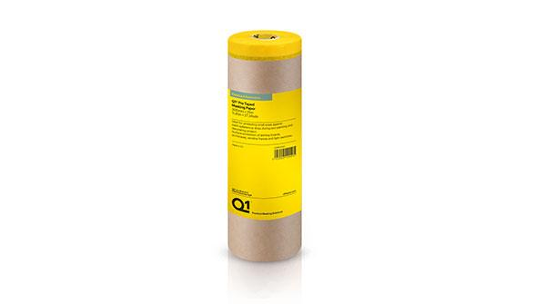 Q1® Pre Taped Masking Paper