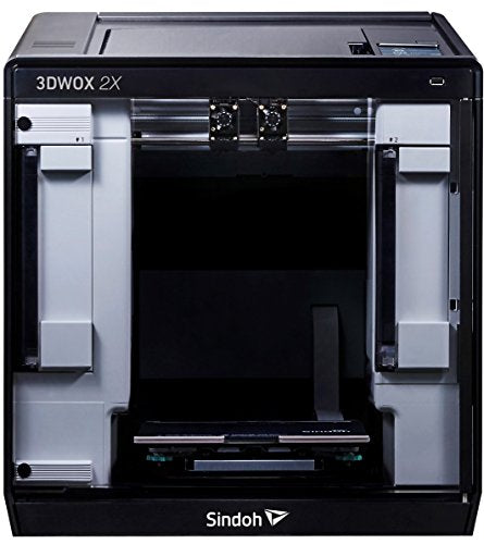 Sindoh - 3D2XQ 3DWOX 2X 3D Printer,Dual Extruder, Wi-Fi Connected, HEPA filter, Flexible Metal Bed Plate (Heated)