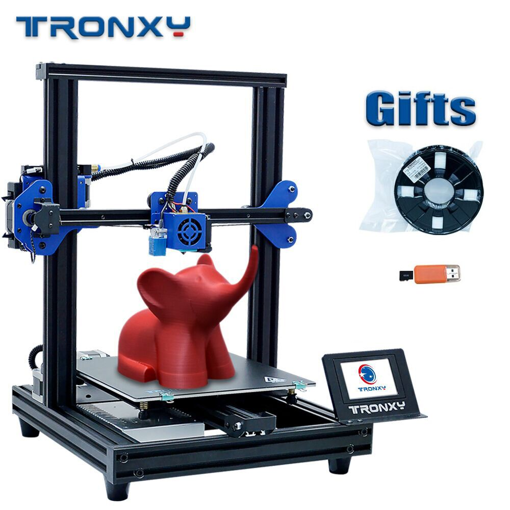 2020 Big sale Tronxy XY-2 PRO 3D Printer Kit with Touchscreen High Quality 3d Printing Ship from Russian and EU Warehouse Gift
