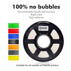 TPU Flexible Filament 1.75MM For 3D Printer 100% No Bubble Sublimation Blanks Good Toughness Print Children Toys And Shoes