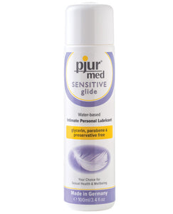 Pjur Med Sensitive Glide - 100ml Bottle freeshipping - GreatEagleInc