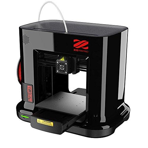 "da Vinci Mini Wireless 3D Printer-6""x6""x6"" Volume (Includes: 300g Filament, PLA/Tough PLA/PETG) - Upgradable to print Metallic/Carbon PLA - GreatEagleInc"